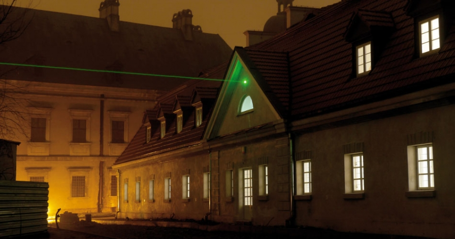 Chlorolux at Tytuł Roboczy, Working Title, Center for Contemporary Art Ujazdowski Castle, Warsaw, 2009